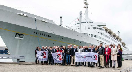Shipbuilders and shipbreakers pledge solidarity in Rotterdam