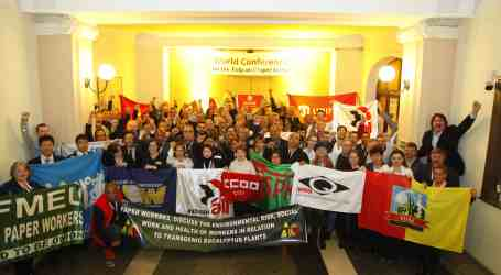 Pulp and paper workers unite in Budapest