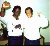 Herman Wallace and Albert Woodfox<br> spent 30 years in solidarity confinement<br> for a crime they did't commit.