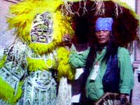 Black and Indigenous cultural<br>bond in New Orleans.