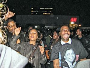 Harlem, N.Y., rally Nov. 4.