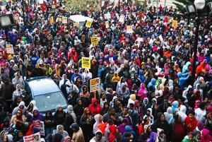 Justice for Trayvon Martin, Baltimore 2012.WW photo: Sharon Black