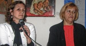 Yamila González Ferrer, Maritzel González, March 13.WW photo: Monica Moorehead
