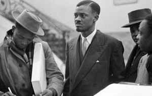 Congolese leader Patrice Lumumba in Brussels, January 1960. He was assassinated a year later.Photo: Wikimedia Commons
