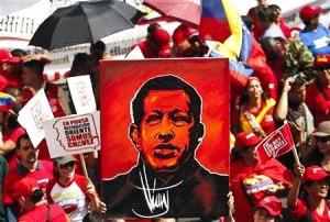¡Chávez presente!