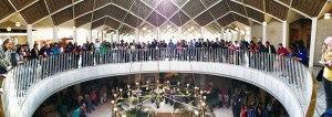Massive group fills up N.C. legislative building.Photo: NC Student Power Union