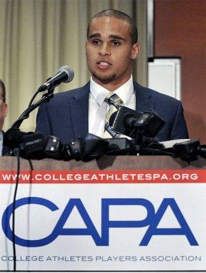 Kain Colter, football union organizer.