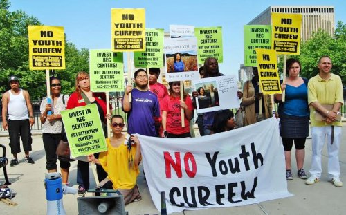 A new curfew law penalizes youth of color.WW photo: Sharon Black