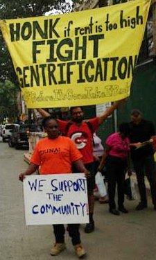 Honk against gentrification, July 19.WW photo: Imani Henry