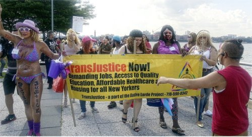 'What do we want? Transjustice!'