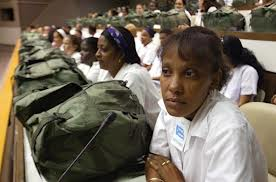 In 2005, 1,586 Cuban doctors wait, ready to assist Hurricane Katrina survivors.