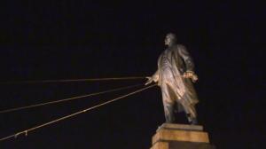 Lenin statue in Kharkov