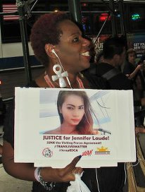 Justice for Jennifer. WW photo: Greg Butterfield