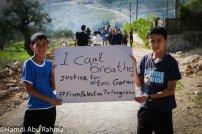Children in occupied Palestine.