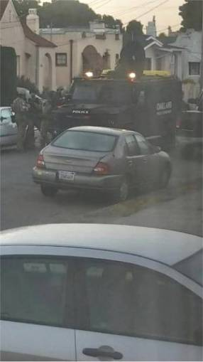 Oakland cops besiege and illegally raid Shakir home.