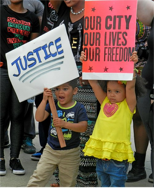 May 2 protest in Baltimore.WW photo: Joseph Piette