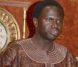Gambia Information Minister Sheriff Bojang