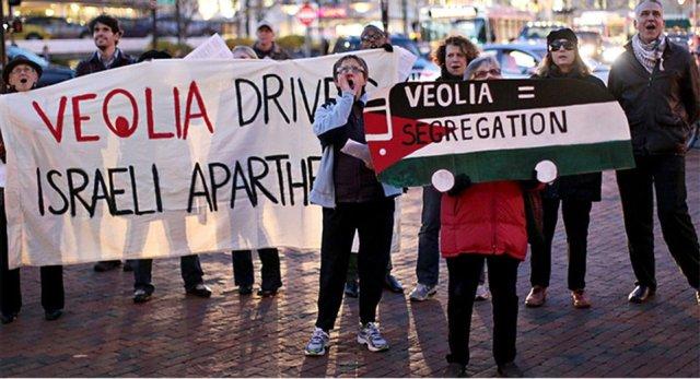 Boston Jewish Voice for Peace protest, Nov. 14, 2012.