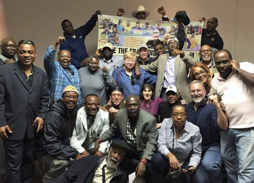 Team Solidarity activists win Local 8751 election by landslide.WW photo: Team Solidarity