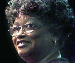 Claudette Colvin in 2005, still defiant. Photo: Mickey Welsh