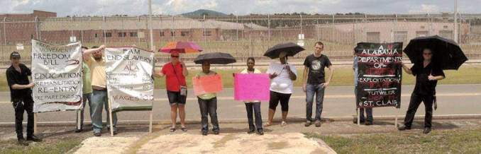 Free Alabama Movement stands in solidarity with prisoners.