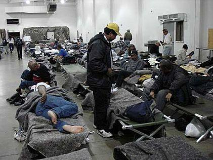 Homeless shelter in NYC,