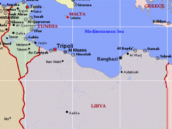 libya_tunisia_map