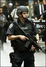 NYC cop on Wall Street.