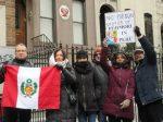 Protesters say, 'No pardon for Fujimori's crimes'
