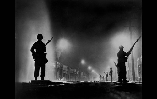 Aug. 13, 1965: National Guard troops occupy Watts.