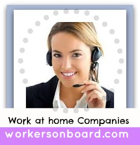 Work at home Companies