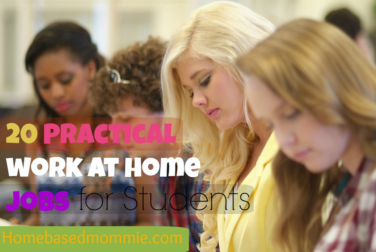 20 Practical Work at home Jobs for Students