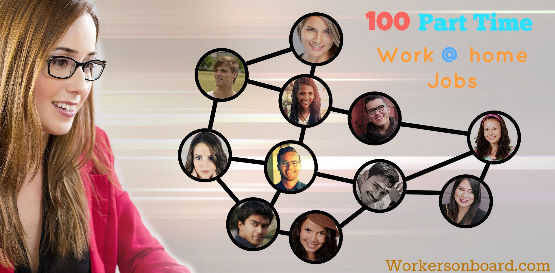 100 Part Time Work at Home Jobs - Workersonboard