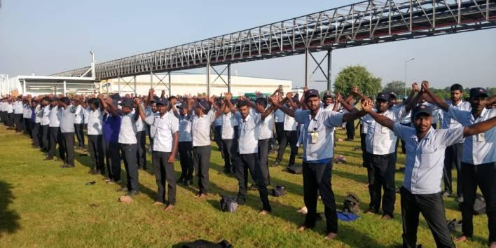 yamaha india workers strike