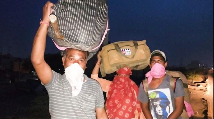 sagar workers going on lalkuan