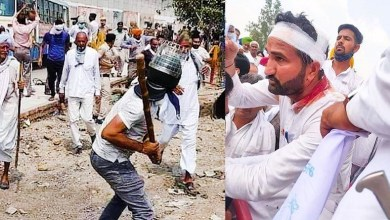 Photo of कुरुक्षेत्र में प्रदर्शन करने जा रहे किसानों को पुलिस ने घेर कर बरसाई लाठी