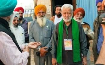 Farmer leader darshan pal