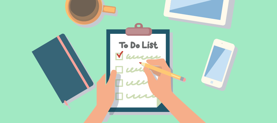 Image result for picture of a things to do list