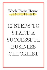 12 Steps to Start a Successful Business Checklist