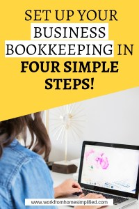Simple Four Step Solopreneur Bookkeeping