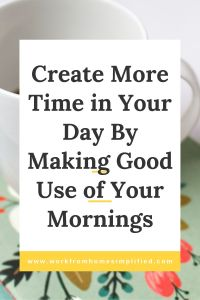 Wake Up Early to Gain More Time in Your Day