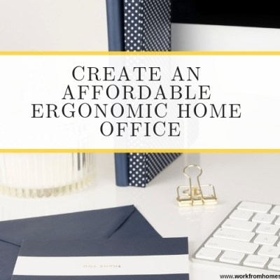 Tips to Set Up an Ergonomic Home Office