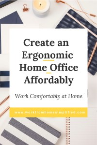 Tips tp Set Up an Ergonomic Home Office