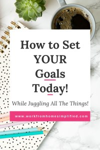 How to Set Personal Development Gioals Today!