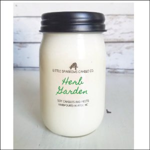 Little Sparrows Candle Co - Herb Garden Soy Candle