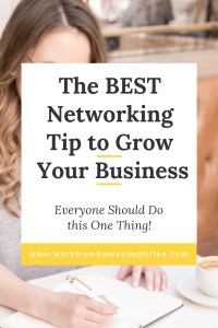 First Step to Networking Effectively