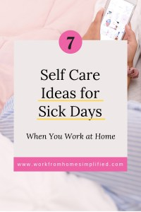 Sick Day Self Care Hacks