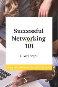 Professional Networing Basics in 4 Easy Steps
