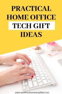 Work From Home Tech Gift Ideas