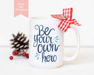 White Lily Gallery Inspirational Mug